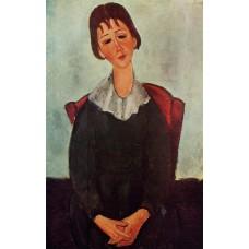 Girl on a Chair (Mademoiselle Huguette)