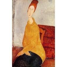 Jeanne Hebuterne in Yellow Sweater