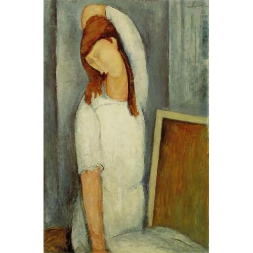 Jeanne Hebuterne Left Arm behind Head