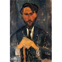 Leopold Zborowski with Yellow Hands