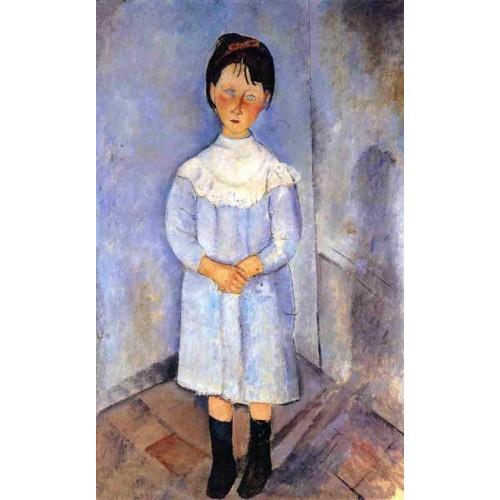 Little Girl in Blue