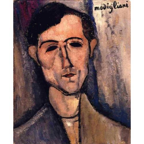 Man's Head (Portrait of a Poet)