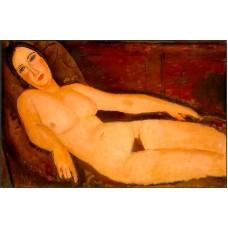 Nude on a Divan