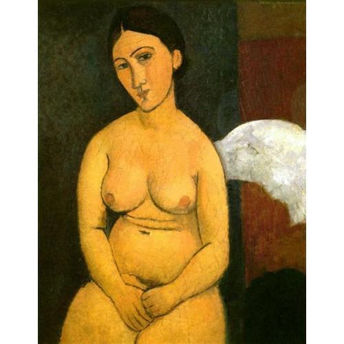 Nude Seated 3