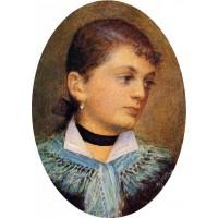 Portrait of Agusta Holzer
