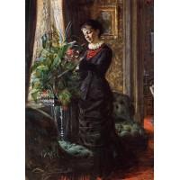 Portrait of Fru Lisen Samson