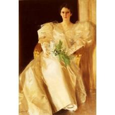 Portrait Of Mrs Eben Richards