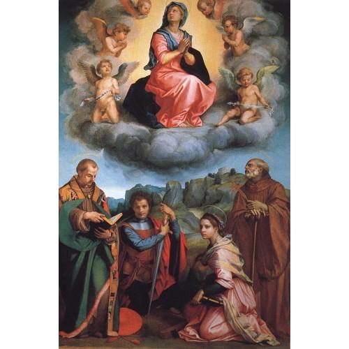 Virgin with Four Saints