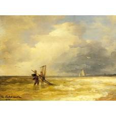 Fishing Along the Shore
