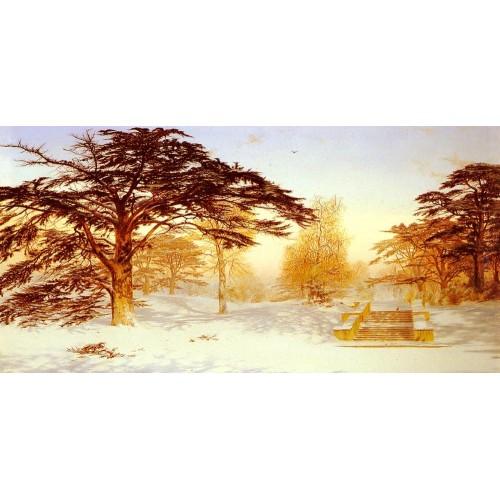 Untrodden Snow The Terrace Holland House