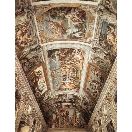 Ceiling fresco