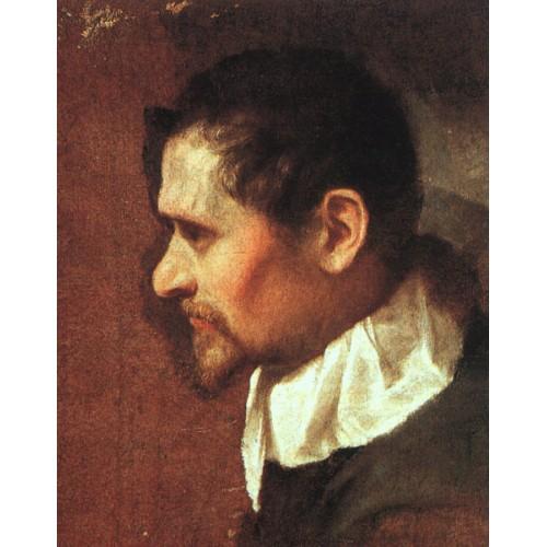 Self Portrait in Profile