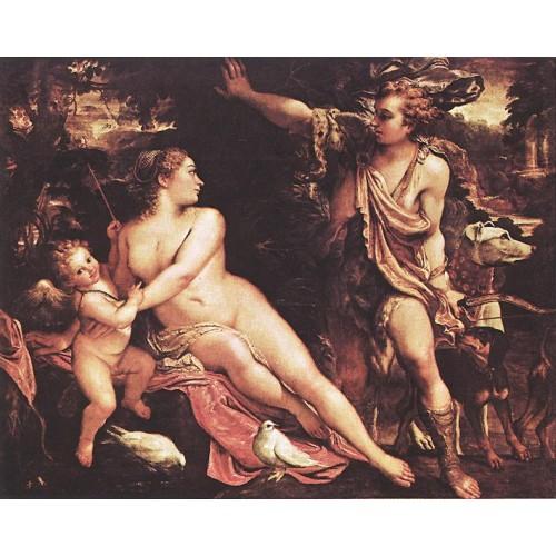 Venus Adonis and Cupid 1