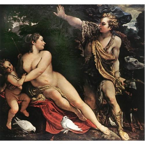 Venus Adonis and Cupid 2