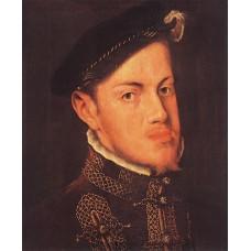 Portrait of the Philip II King of Spain