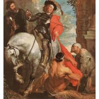 St Martin Dividing his Cloak