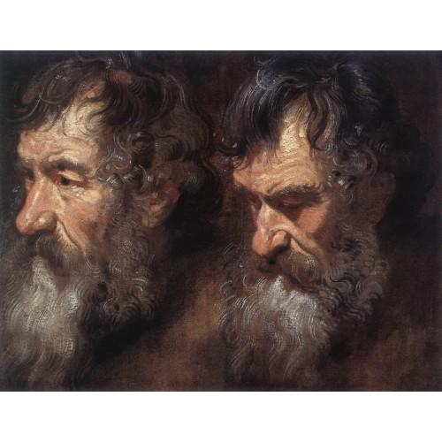 Studies of a Man's Head