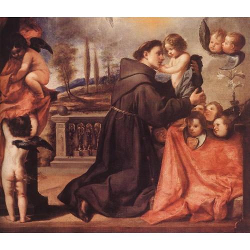 St Anthony of Padua with Christ Child