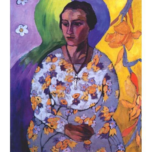 Portrait of n svendonskaya