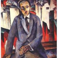 Portrait of the regisseur alexander tairov 1920