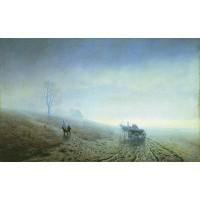 Autumn impassability of roads 1872