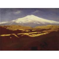 Elbrus in the daytime