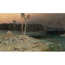 On a valaam island 1873