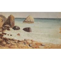 Rocky seashore crimea
