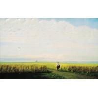 Steppe cornfield 1875