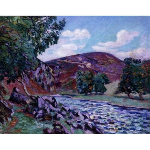 Crozant Landscape 1