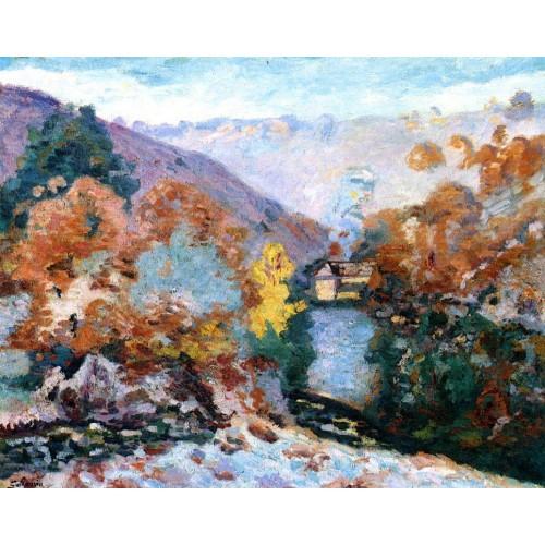Crozant Landscape La Folie