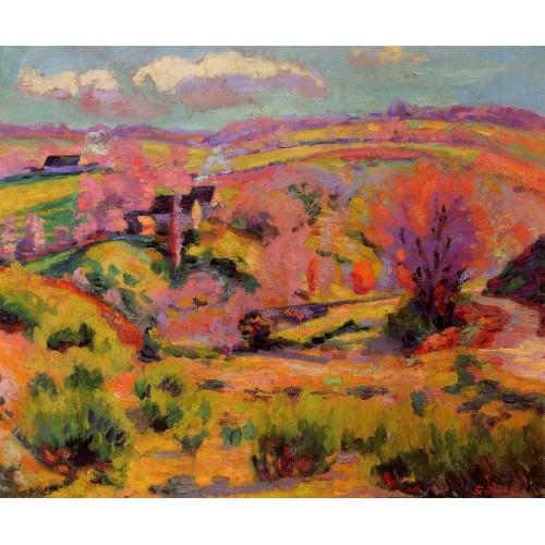 La Creuse Landscape Spring