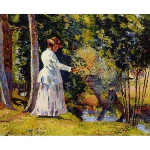 Madame Guillaumin Fishing