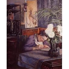 Madame Guillaumin Writing