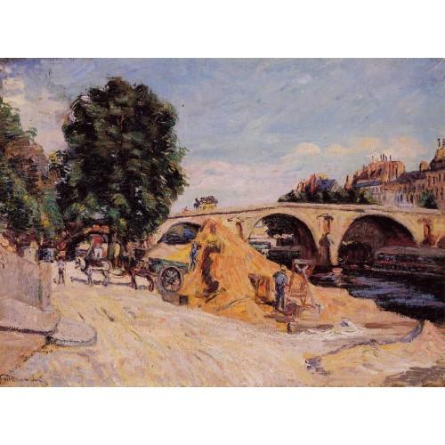 Pont Marie from the Quai d'Anjou