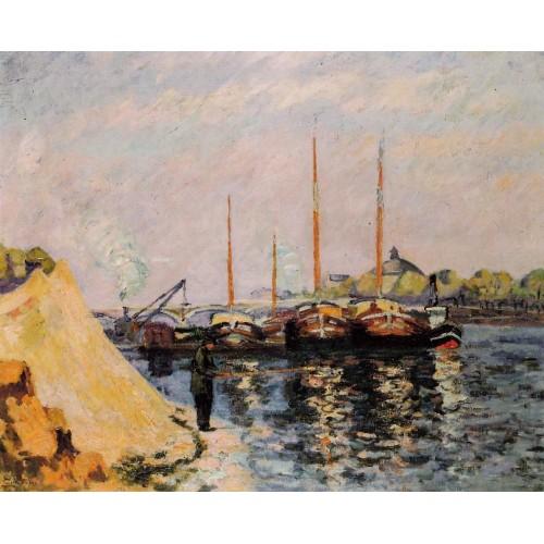 The Quay d'Austerlitz Morning