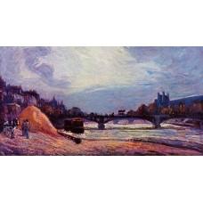 The Seine at Charenton 1