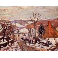Winter in Saint Sauves