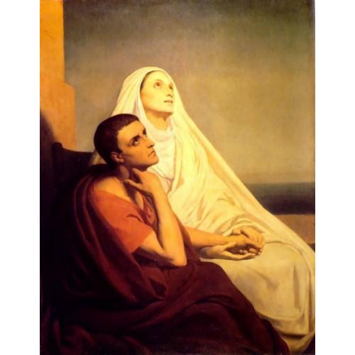 Saint Monique and Saint Augustine