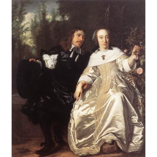 Abraham del Court and Maria de Keersegieter