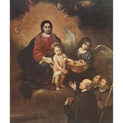 The Infant Jesus Distributing Bread to Pilgrims