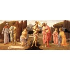 Predella Baptism of Christ