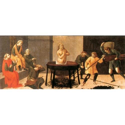 Predella Martyrdom of St John