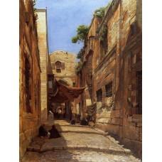 David Street in Jerusalem