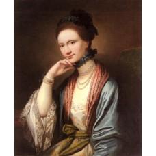 Portrait of Ann Barbara Hill Medlycott