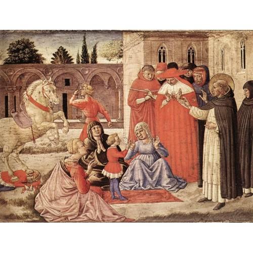 St Dominic Reuscitates Napoleone Orsini