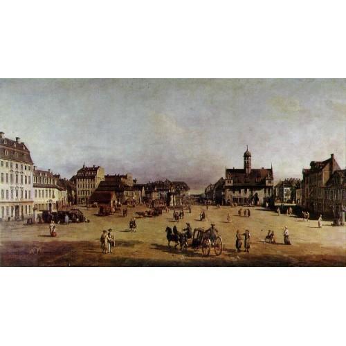 The Neustadter Market in Dresden