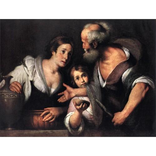 Prophet Elijah and the Widow of Sarepta