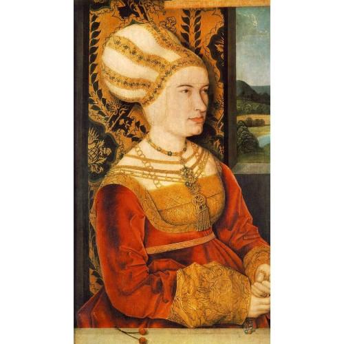 Portrait of Sybilla von Freyberg