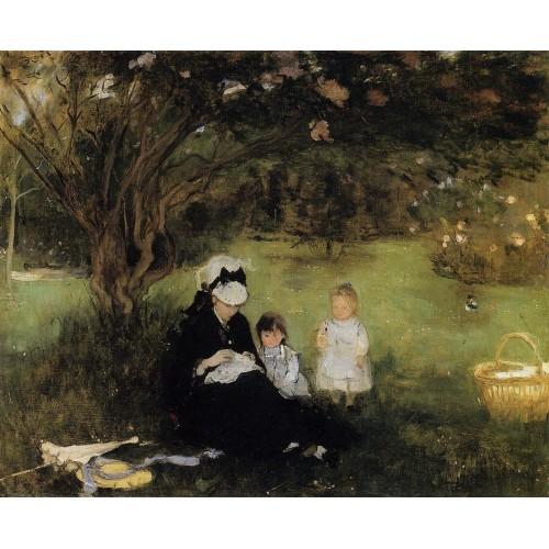 Lilacs at Maurencourt